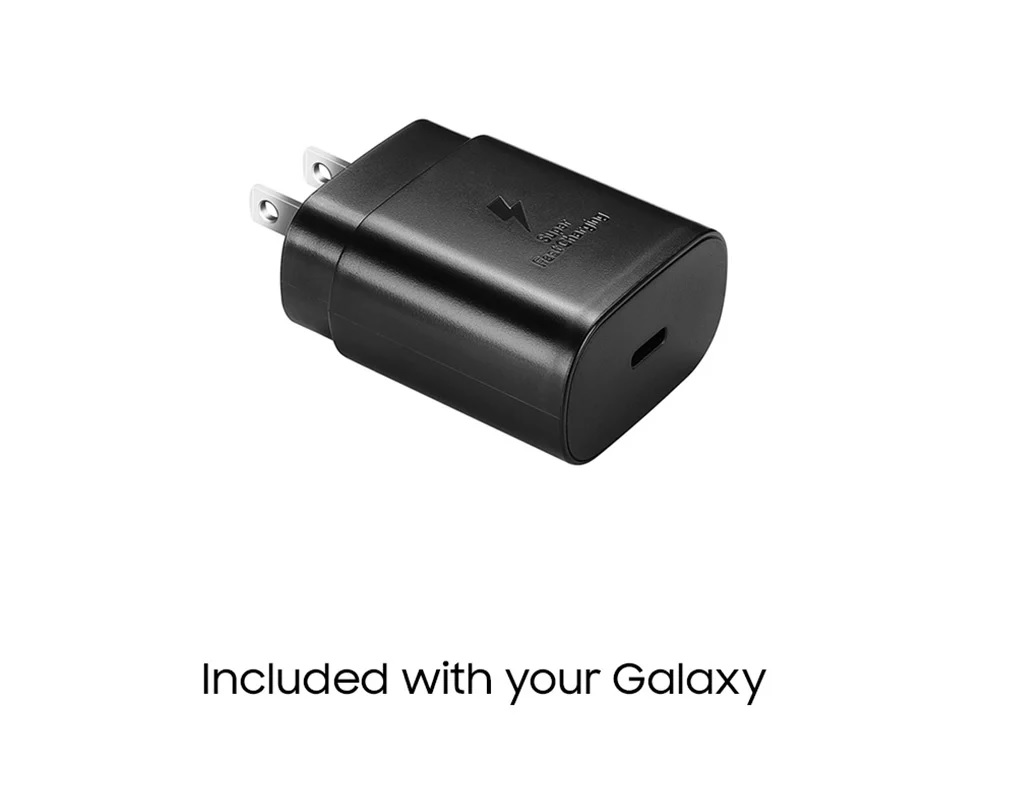 included with your galaxy