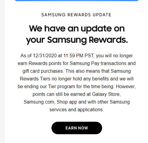 Samsung Pay Samsung Rewards