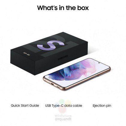 Galaxy S21 caja
