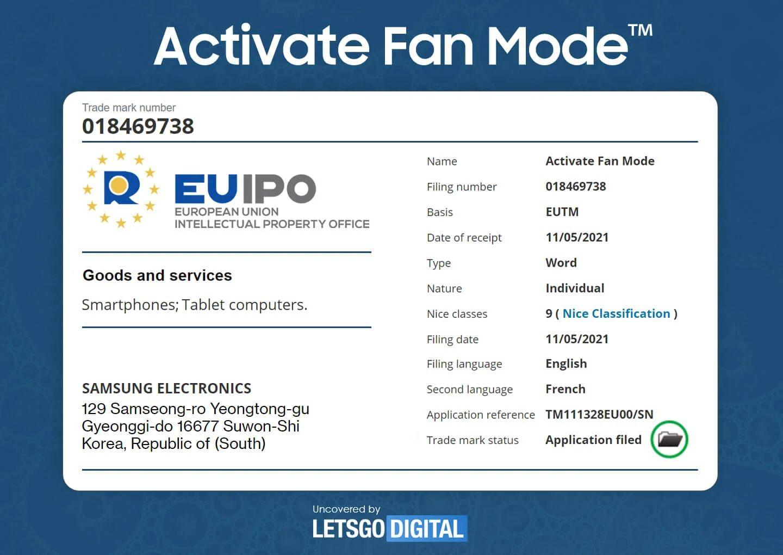 Activate Fan Mode Universo Samsung