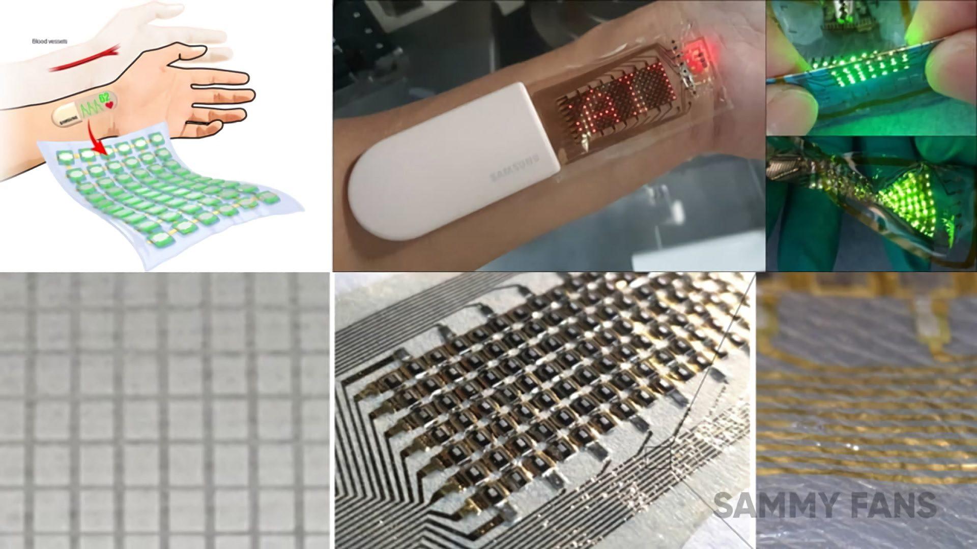 Esta pantalla es capaz de estirarse hasta 1000 veces, adherirse a la piel y mostrar al usuario datos de medición sobre su salud.